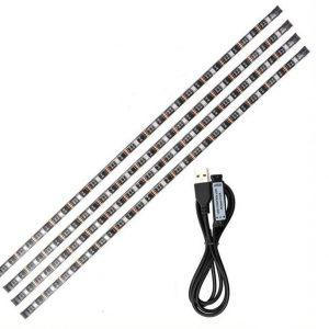 Ταινία Αυτοκόλλητη  LED για Τηλεόραση με USB 1.2m