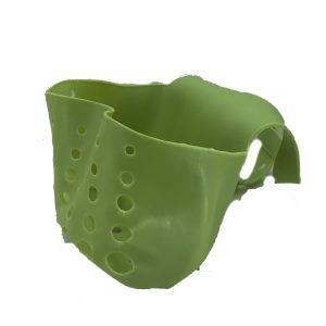 Πλαστική Θήκη για Σφουγγάρι Νεροχύτη Πράσινο