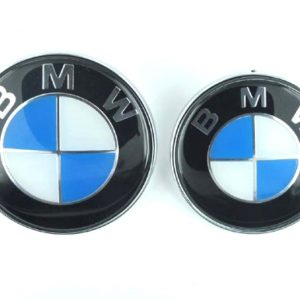 BMW Σήμα  Καπό και Πορτ Μπαγαζ Σετ ( Καπό  8.2cm και Πορτ Μπαγκαζ 7.3cm)