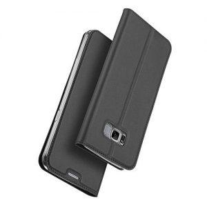 Θήκη Βιβλίου για Samsung S8 Plus Γκρι