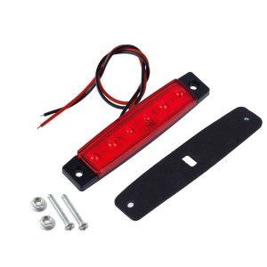 Φώτα Όγκου LED 12V/24V  Κόκκινο