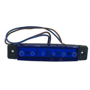 Φώτα Όγκου LED 12V/24V Μπλε