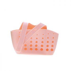 Πλαστική Θήκη για Σφουγγάρι Νεροχύτη Ροζ