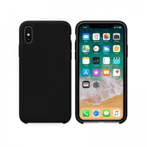 Θήκη Σιλικόνης Μαύρη για iPhone X/XS