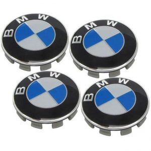 Καπάκια Ζαντών BMW 5.6cm 4 Τεμάχια