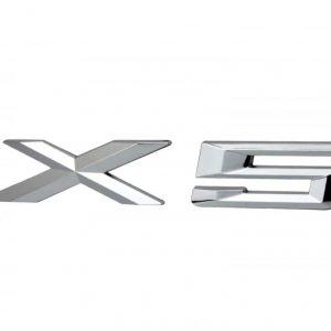 BMW X5 Σήμα Μοντέλου με Αυτοκόλλητη Ταινία