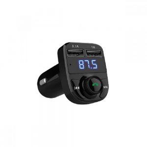 FM Transmitter Earldom ET-M29, Bluetooth, USB, 3.1A, Μαύρο