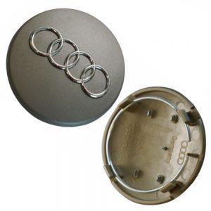 Καπάκι Ζάντας για Audi 5.9cm Γκρι