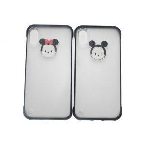 Θήκες Σετ για iPhone X/XS Mickey – Minie Μαύρο