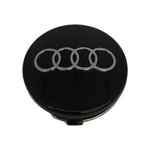 Καπάκι Ζάντας για Audi 5.9cm Μαύρο