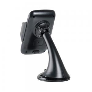 Βάση Κινητού για το Αυτοκίνητο με Βεντούζα  360º Μαύρο