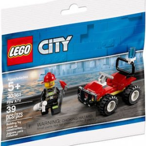 Lego City: Fire Atv 30361
