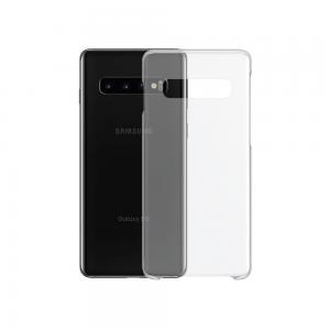 Θήκη Σιλικόνης (διάφανη) για Samsung S10  με Αντιολισθητικό Υλικό στο Πλάι