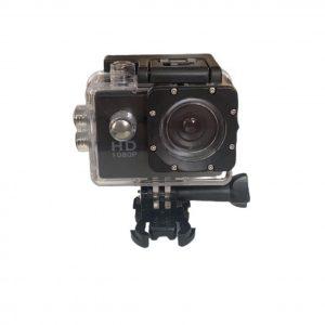 1080P Action Camera Αδιάβροχη σε Μαύρο χρώμα