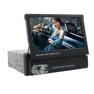 Αναδιπλούμενη Οθόνη Car MP5 Player με Bluetooth 1DIN Μαύρη