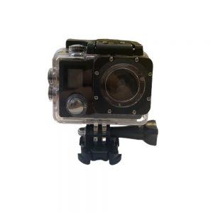 4K Action Camera Αδιάβροχη με WiFi και Ασύρματο Χειριστήριο σε Μαύρο χρώμα