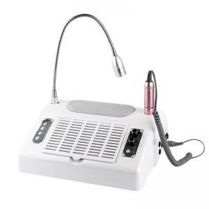 5σε1 Επαγγελματικός Τροχός, Λάμπα Νυχιών και Συλλέκτης Σκόνης με LED Φωτισμό Salon Expert BQ777