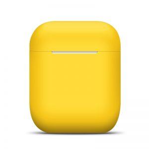 Θήκη Σιλικόνης (AirPods) σε Κίτρινο 4268