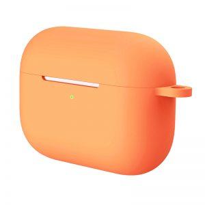 Θήκη Σιλικόνης (AirPods Pro) σε Πορτοκαλί Ανοιχτό 4269
