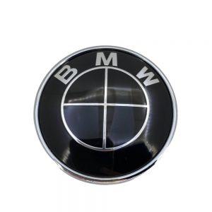Σήμα BMW Μαύρο για Πορτ Μπαγκαζ 7.3cm