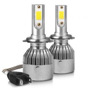 Λάμπες LED C6 H7 Αυτοκινήτου 36W 6000K –  2 Τεμάχια
