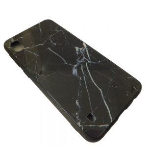 Πλαστική Θήκη για Samsung Galaxy A10 Μάρμαρο Μαύρο