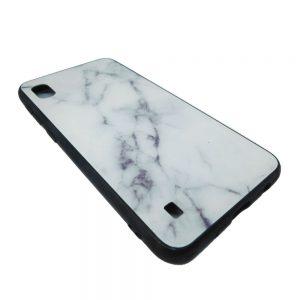 Πλαστική Θήκη για Samsung Galaxy A10 Μάρμαρο Άσπρη
