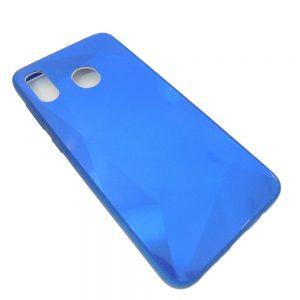 Πλαστική Θήκη για Samsung A20/A30 Diamond Μπλε