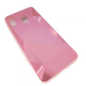 Πλαστική Θήκη για Samsung A20/A30 Diamond Ροζ