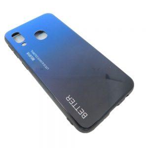 Πλαστική Θήκη για Samsung A40 Μαύρο/Μπλε