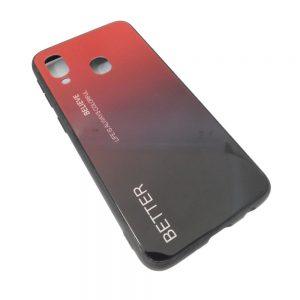 Πλαστική Θήκη για Samsung A40 Μαύρο/Κόκκινο