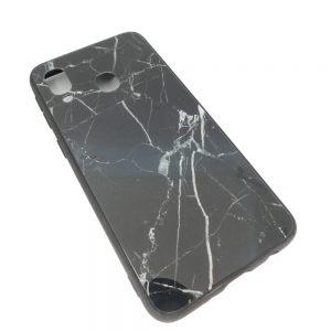 Πλαστική Θήκη για Samsung A40 Μάρμαρο Μαύρη