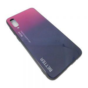 Πλαστική Θήκη για Samsung A50 Μαύρο/Μωβ