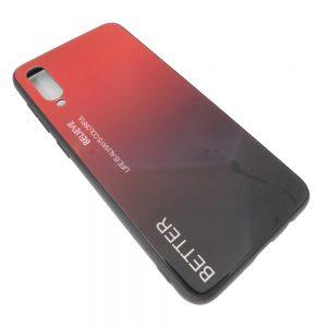 Πλαστική Θήκη για Samsung A50 Μαύρο/Κόκκινο