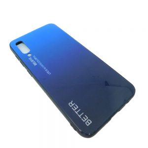 Πλαστική Θήκη για Samsung A50 Μαύρο/Μπλε