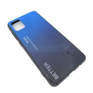 Πλαστική Θήκη για Samsung A51 Μαύρο/Μπλε