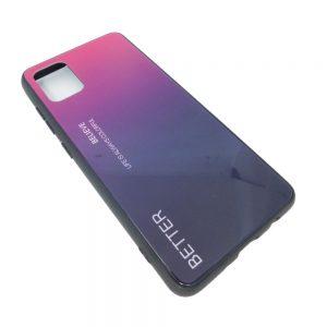 Πλαστική Θήκη για Samsung A51 Μαύρο/Μωβ