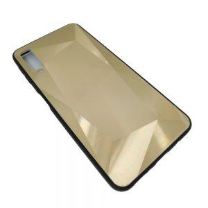 Πλαστική Θήκη για Samsung A750 / A7 2018 Χρυσή Diamond