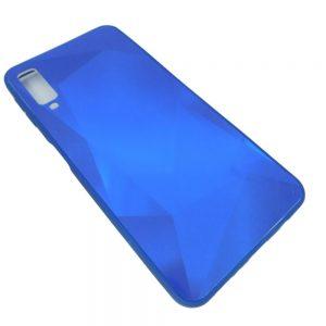 Πλαστική Θήκη για Samsung A7 2018 / A750 Μπλε Diamond