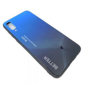 Πλαστική Θήκη για Samsung A70 Μαύρο/Μπλε