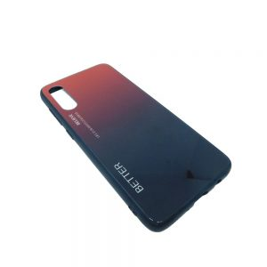 Πλαστική Θήκη για Samsung A70 Μαύρο/Κόκκινο