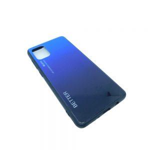 Πλαστική Θήκη για Samsung Galaxy A71 Μαύρο/Μπλε