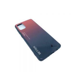 Πλαστική Θήκη για Samsung Galaxy A71 Μαύρο/Κόκκινο