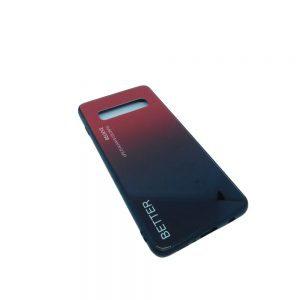 Πλαστική Θήκη για Samsung Galaxy S10 Μαύρο/Κόκκινο