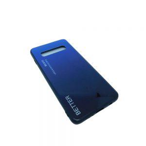 Πλαστική Θήκη για Samsung Galaxy S10 Plus Μαύρο/Μπλε