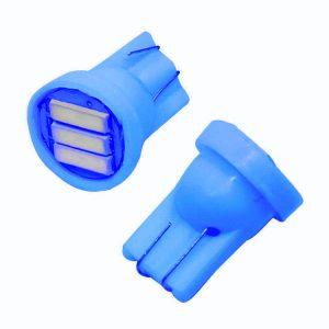 Λάμπα LED T10 7020 3SMD  3W 150LM 12V Μπλέ Φώς