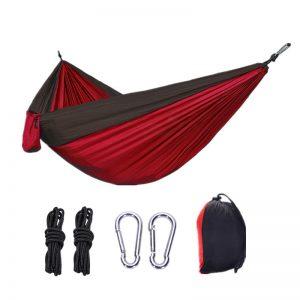 Αιώρα Αλεξίπτωτο Μονή Κόκκινο/Μαύρο 270cm*1,40cm