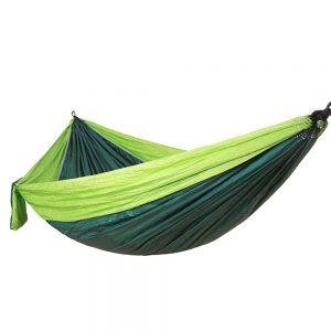 Αιώρα Αλεξίπτωτο Μονή Ανοιχτό Πράσινο/Σκούρο Πράσινο 260cm*1,40cm