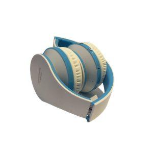 Ασύρματα Ακουστικά Σπαστά Bluetooth σε Άσπρο/Μπλε
