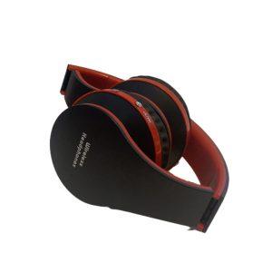 Ασύρματα Ακουστικά Σπαστά Bluetooth σε Μαύρο/Κόκκινο χρώμα